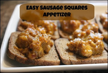 sausage cheese appetizer