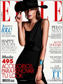 Portada Elle Abril 2013
