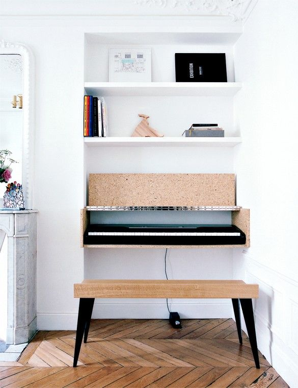 La fabrique d co des instruments de musique dans la for Piano for small space