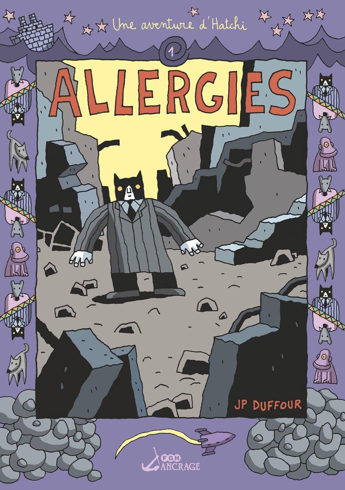 """Les aventures d'Hatchi # 1 """"Allergies"""" de Jean-Pierre DUFFOUR"""