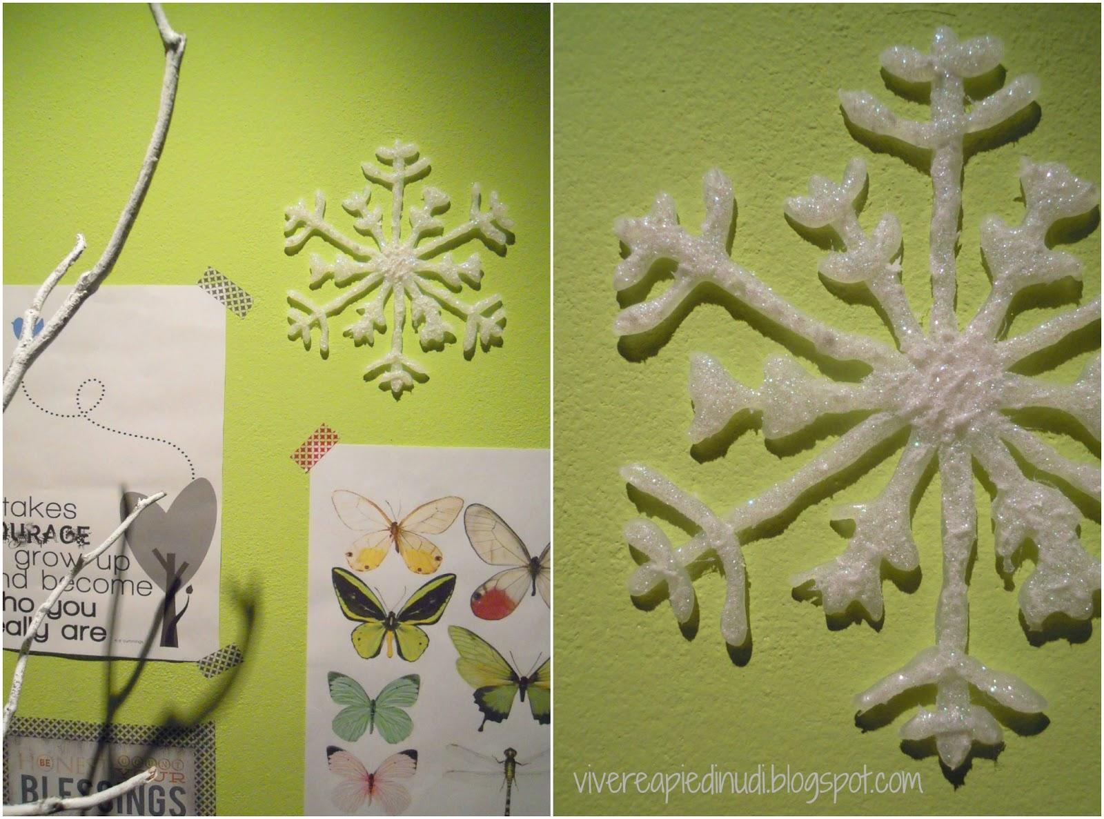 Fiocchi Di Neve Di Carta Fai Da Te : Vivere a piedi nudi living barefoot craft diy decorazioni di