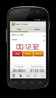 easy tempus smartphone app