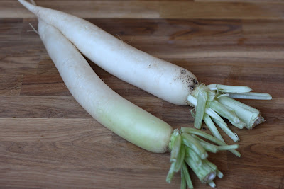 Overnight Chinese Daikon Radish Pickles recipe by Barefeet In The Kitchen