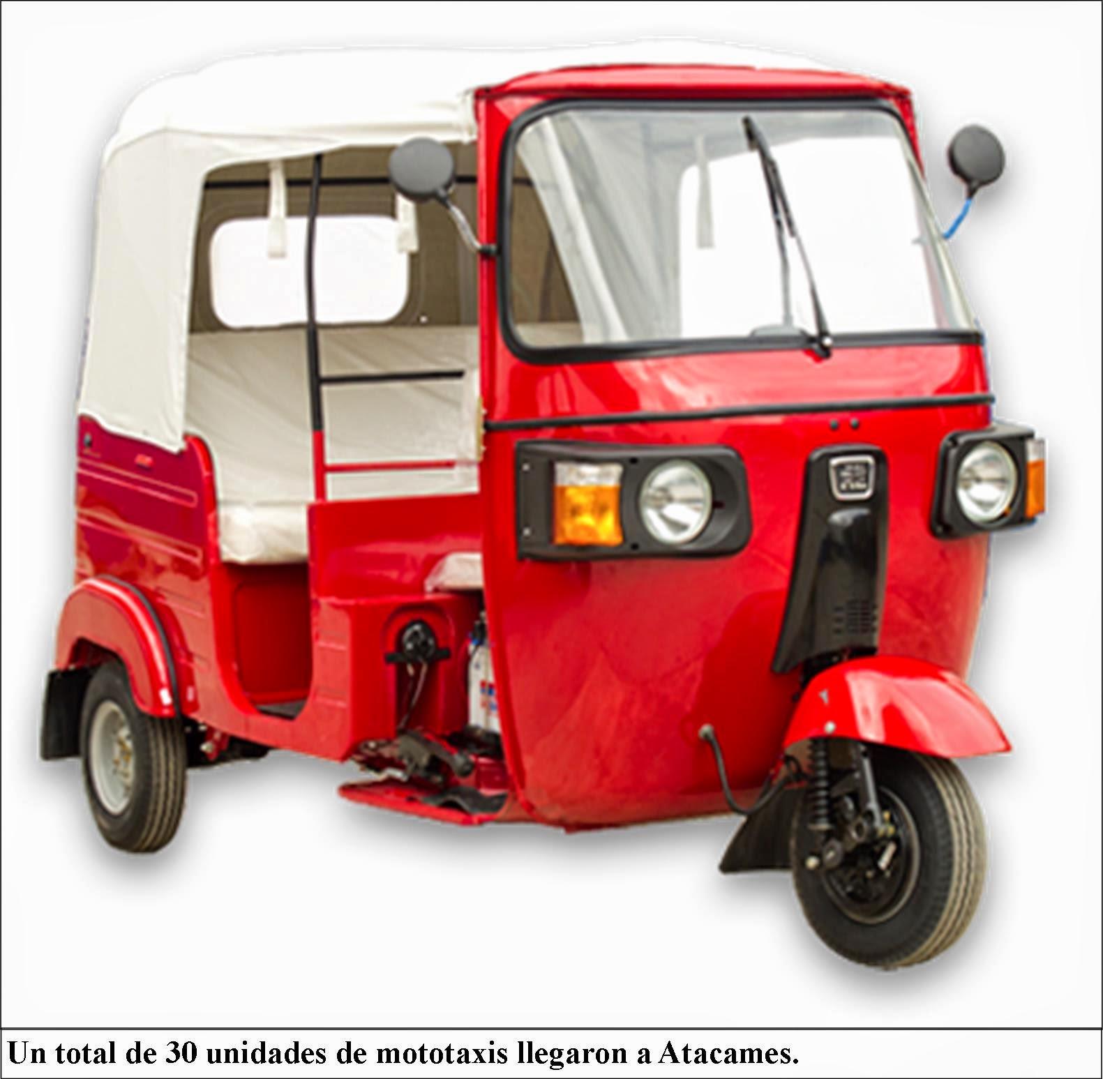 tonchig e al d a llegan nuevas mototaxis para compa a. Black Bedroom Furniture Sets. Home Design Ideas