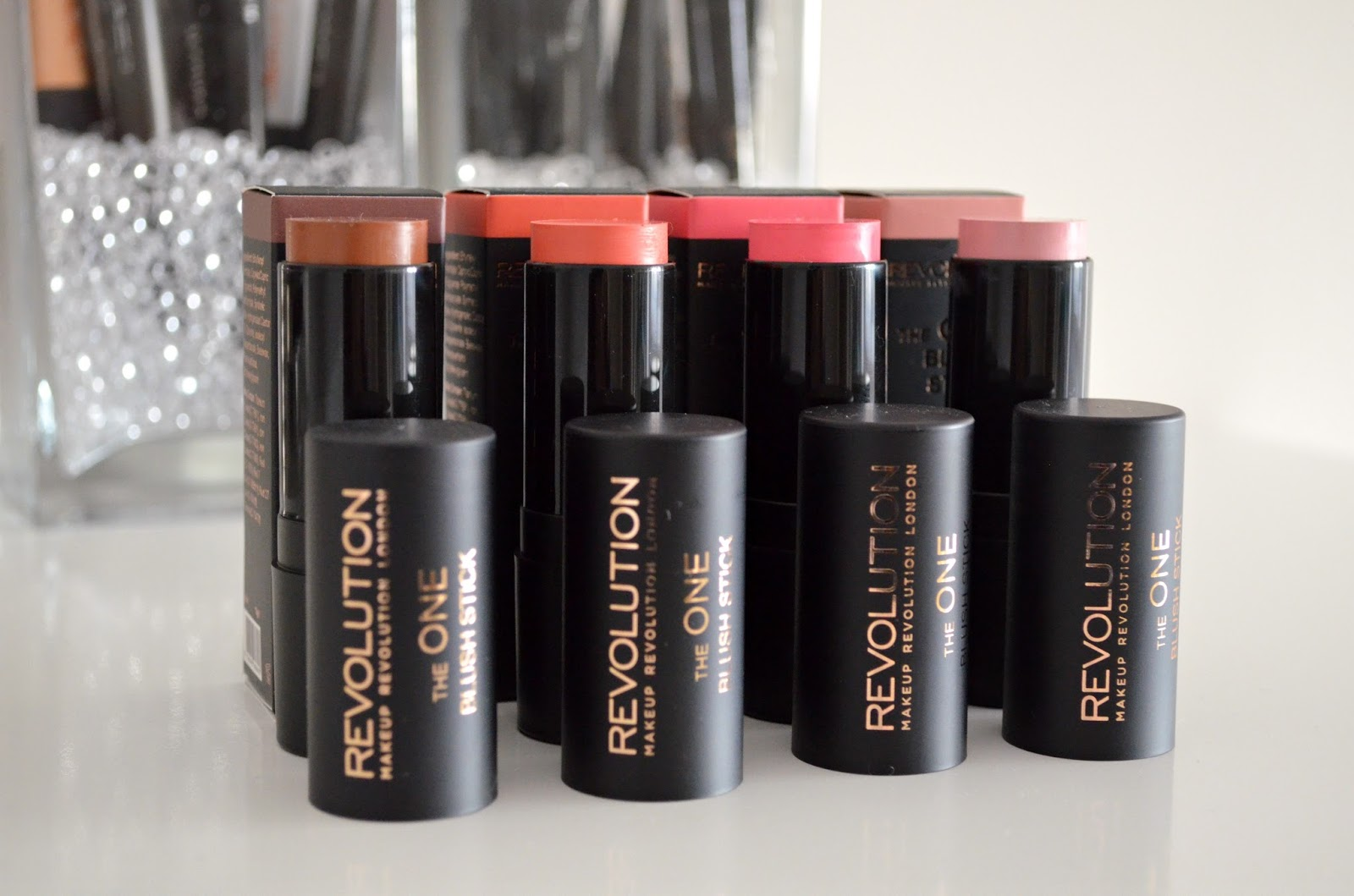 Makeup Revolution The One blush sticks review matte formula