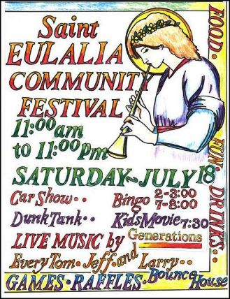 7-18 St. Eulalia Community Festival