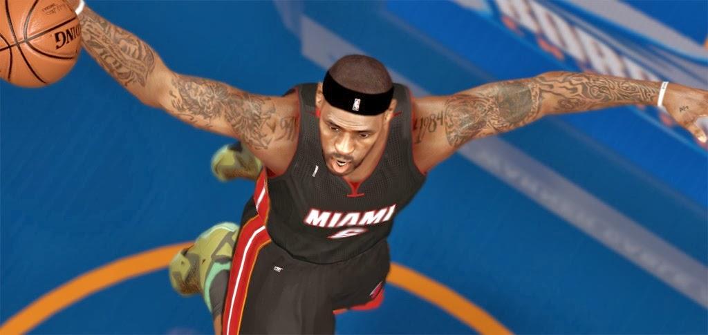 NBA 2K14 PC Next-Gen Global Graphics Mod