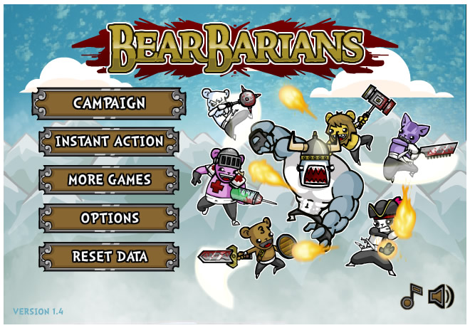 Armor Game : Bearbarians