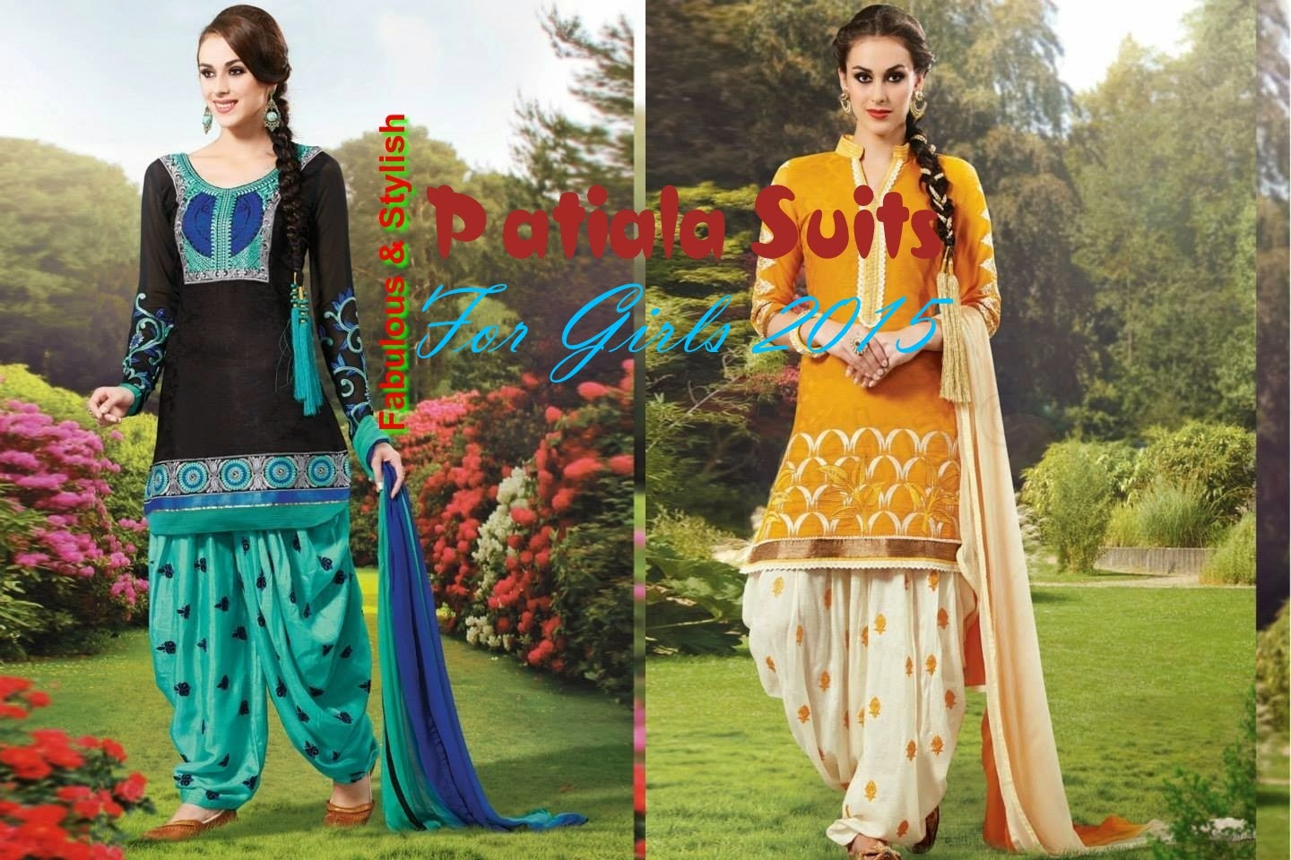 Fabulous Amp Stylish Patiala Suits For Girls By Natasha Couture From
