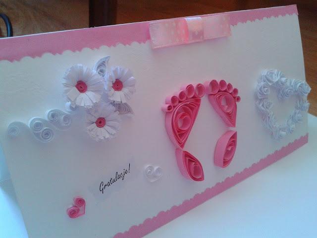 Gratulacje z okazji narodzin dziecka kartka
