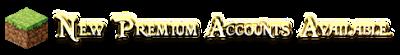 Minecraft Premium Account Giveaway
