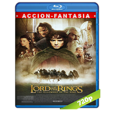 El Señor De Los Anillos 1 (2001) BRRip 720p Audio Trial Latino-Castellano-Ingles 5.1