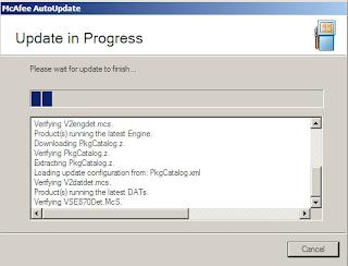 Download McAfee Virus Definitions v3