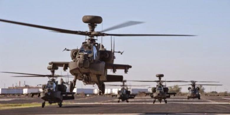 Skuadron Tempur Apache Untuk Jaga Laut China Selatan