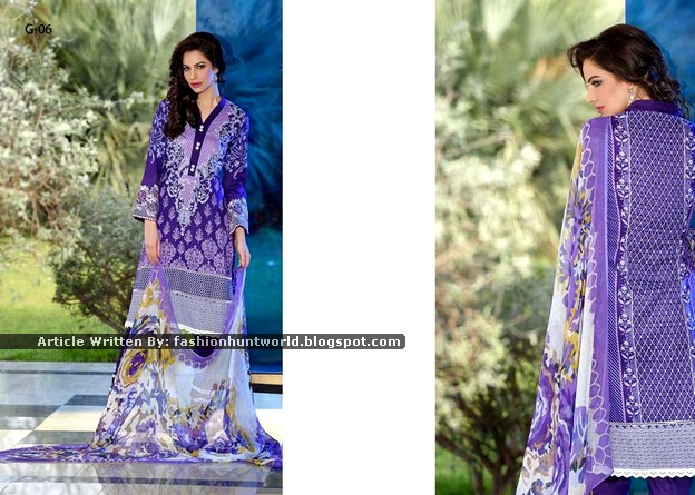 Gohar Lawn Collection 2015-2016 - 014