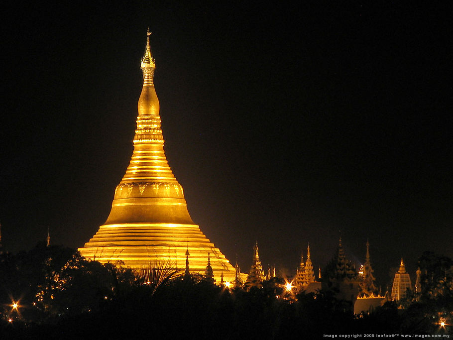 burma pagoda Wallpapers