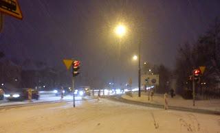 Poznań zimą z perspektywy rowerzysty - blog rowerowy KochamRowery.pl