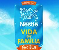 Promoção Nestlé Vida em Família faz Bem www.familianestle.com.br Familhão Luciano Huck