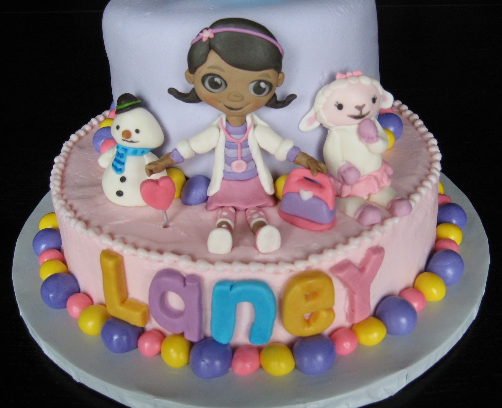 Custom Cakes By Julie Doc Mcstuffins Cake Ii