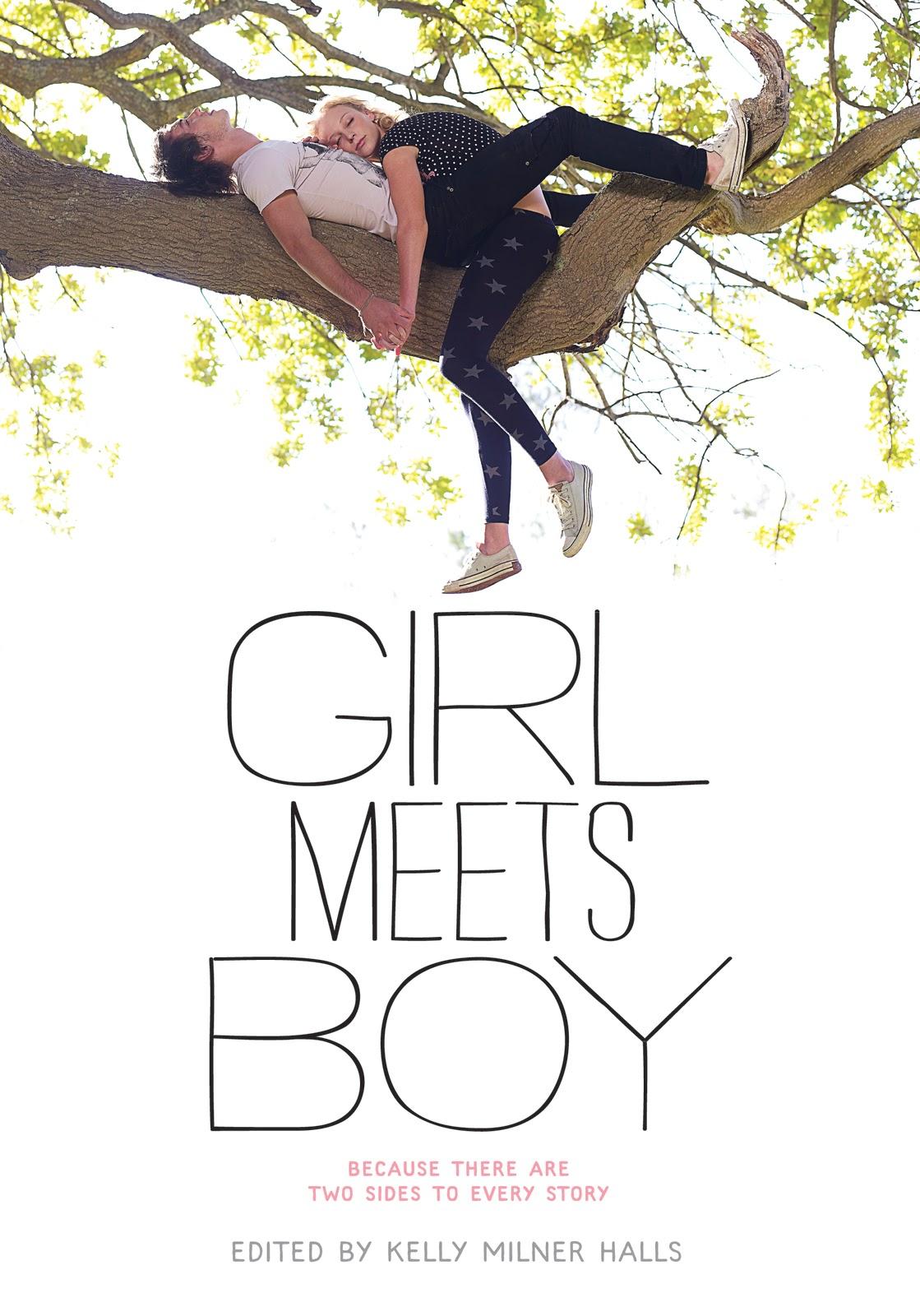 Boy and girl meet