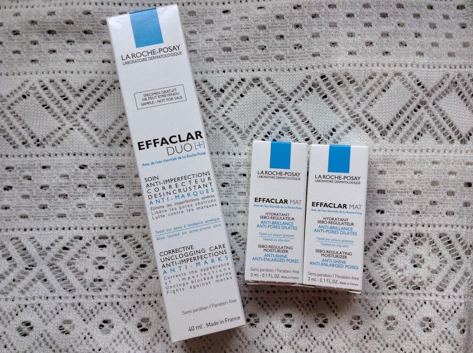 >> 油面專用去暗粒*La Roche-Posay EFFACLAR DUO[+] 粉刺淨化雙效精華﹠控油收毛孔保濕乳+免費換領體驗裝