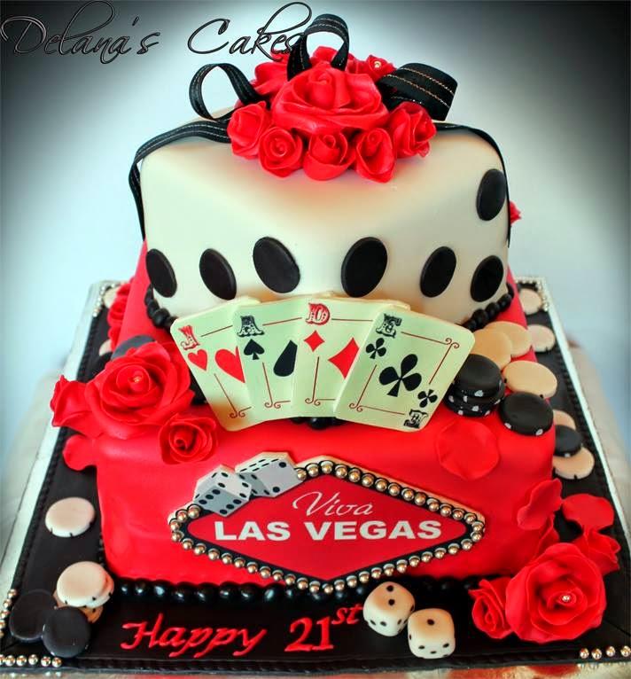 Delana's Cakes: Las Vegas Cake