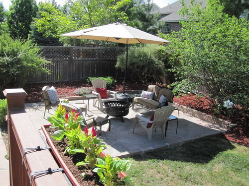 Backyard Makeover Ideas : Exotic Patio Furniture Backyard Makeover Ideas