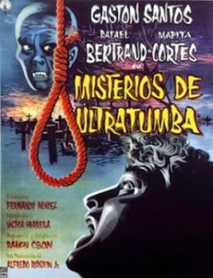 """Hoy les recomendamos una cinta de terror estrenada en 1959 dirigida por Fernando Méndez titulada """"Misterios de ultraumba""""."""