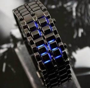 jam tangan samurai rantai
