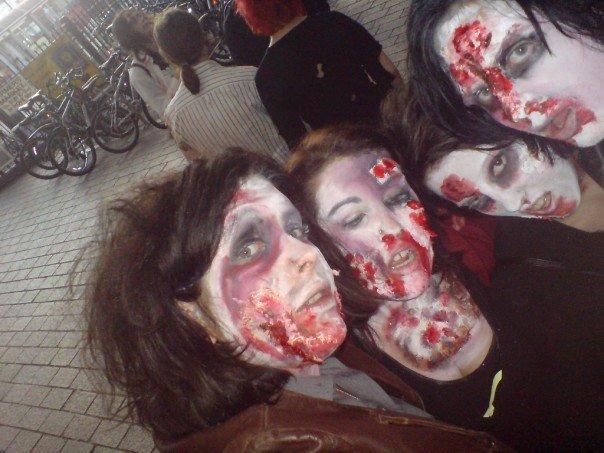 LIFESTYLE | Zombie Fancy Dress for Halloween