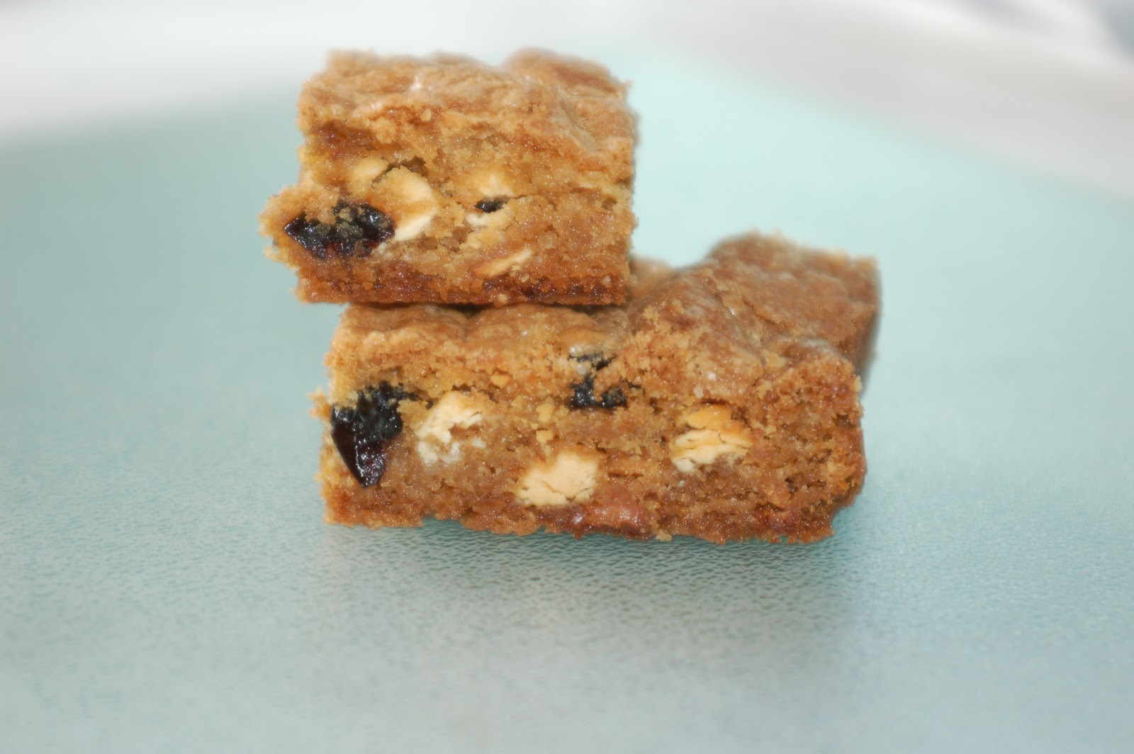 Let's Eat: Blueberry-White Chocolate Chip Blondies