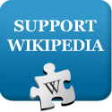 we support wikipedia...