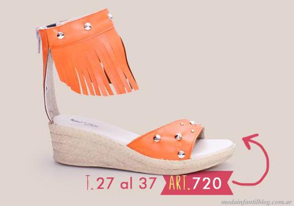 calzado para niñas verano 2014 new star