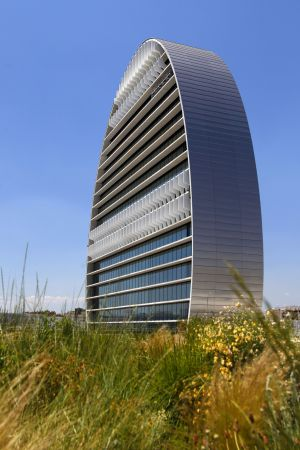 Sede del BBVA en Madrid. Herzog& de Meuron