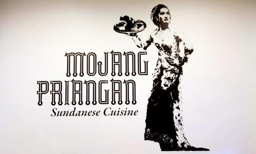 Logo Restoran Mojang Priangan