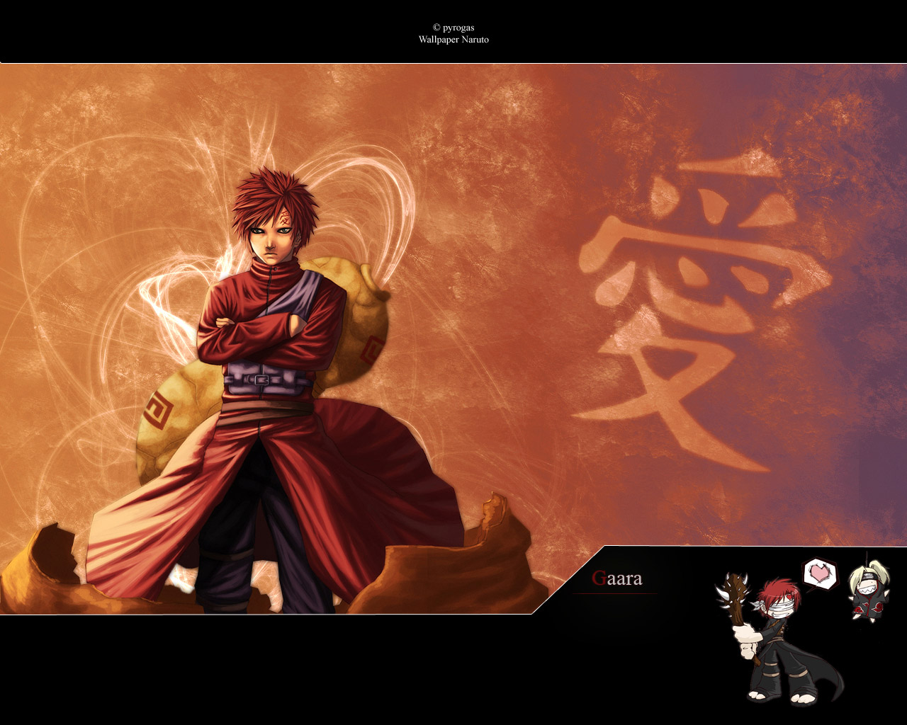naruto and gaara wallpaper - photo #17