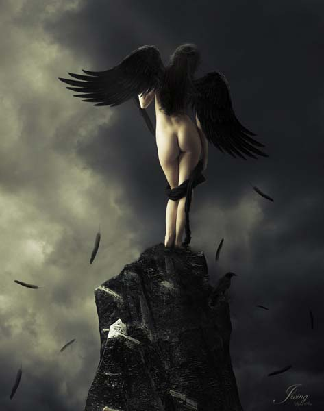 temptation by earendil09 d386y09 Masterful Examples of Dark Photo Manipulation Art