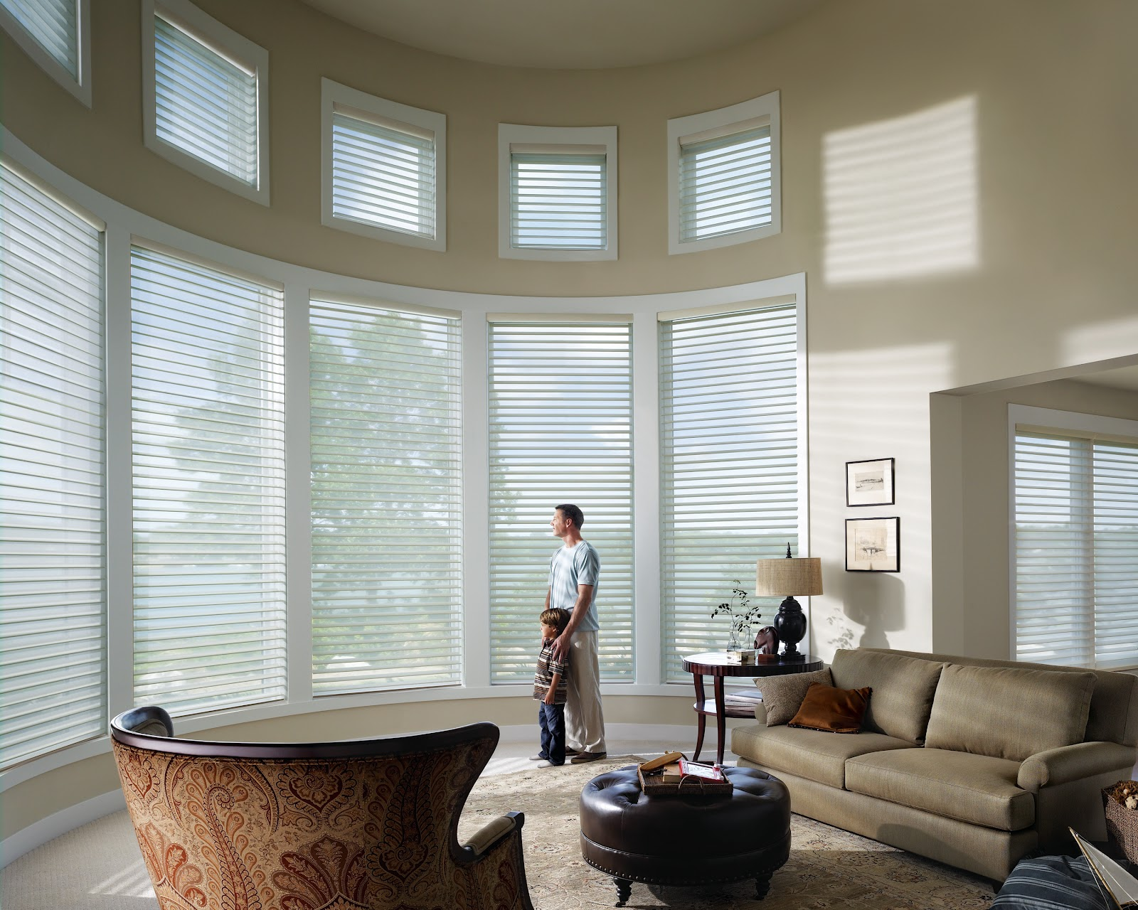 The buzz on blinds save 100 00 on hunter douglas motorized window