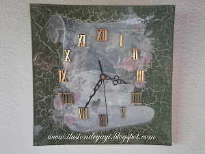 RELOJES DECOUPAGE