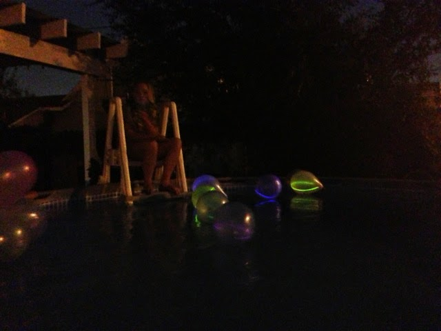 Balloons With Glow Sticks in Them Glow Stick Balloons | Life in