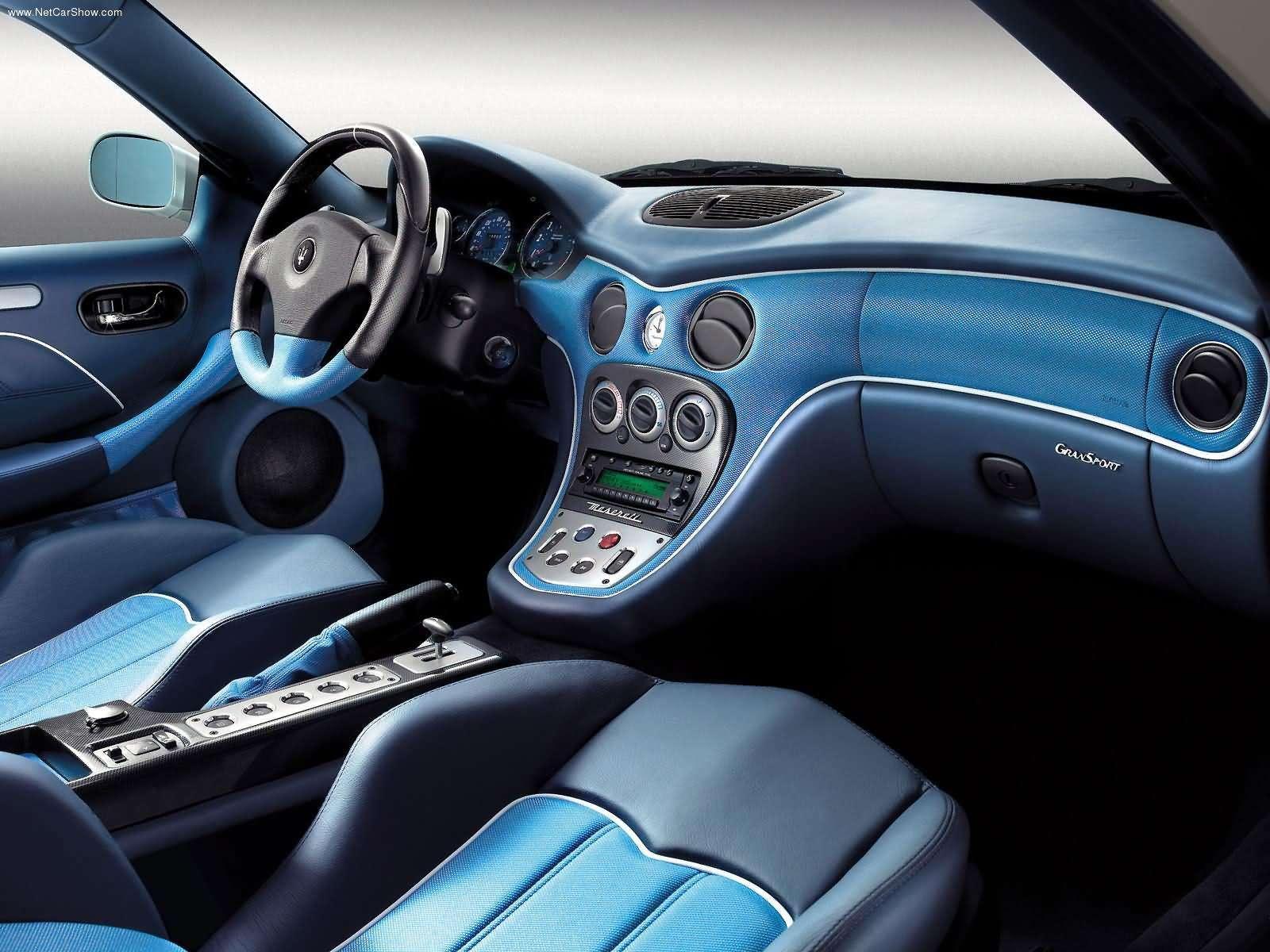 Hình ảnh siêu xe Maserati GranSport 2004 & nội ngoại thất