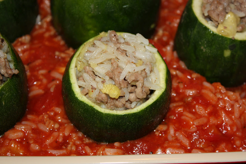zucchini backofen garen
