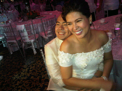 Lani Mercado and Bong Revilla Silver Wedding