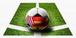 Pallone sull'erba