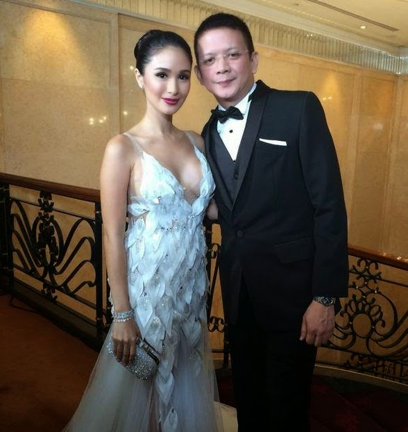 8th Star Magic Ball Couple Heart Evangelista and Chiz Escudero