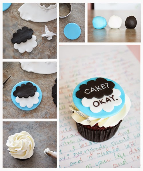 the fault in our stars cupcake tutorial