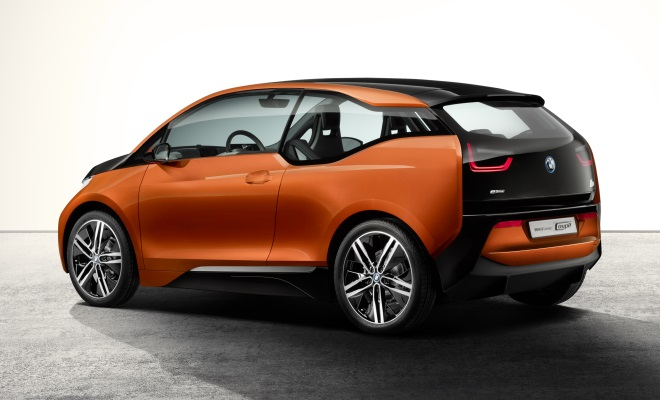BMW i3 Concept Coupe rear side view
