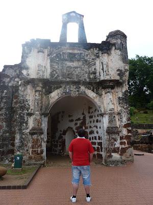 Porta de Santiago, Fortaleza a famosa, Malacca