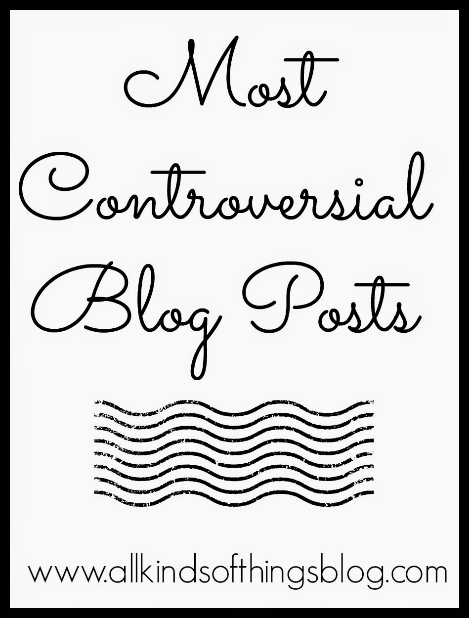 Controversial Blog Posts