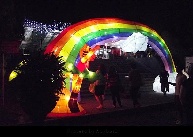 10 Tempat Obyek Wisata malam hari di Yogyakarta - Taman Pelangi